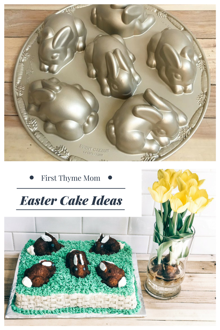 Easter Cake Ideas. How To Make An Easter Bunny Cake.