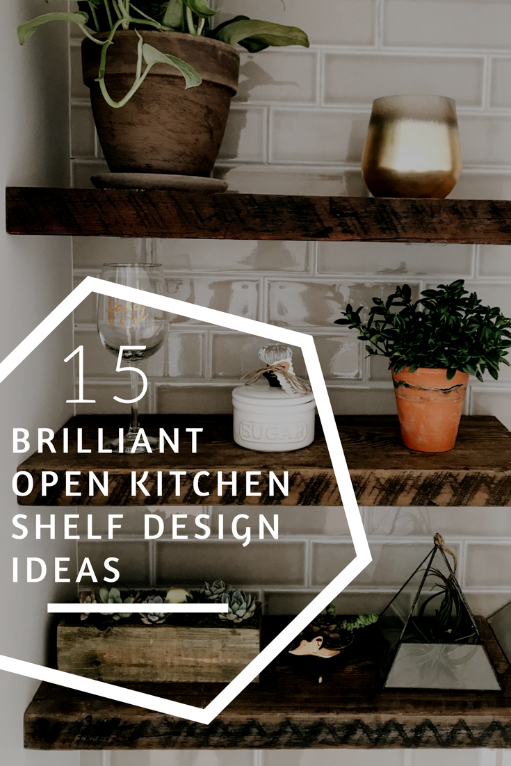 How To Decorate Open Kitchen Shelving First Thyme Mom