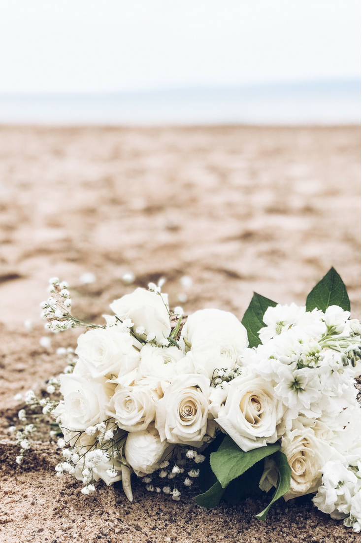 How To Have A Gorgeous Beach Wedding In The Midwest. Bay Harbor Beach Wedding Ideas.