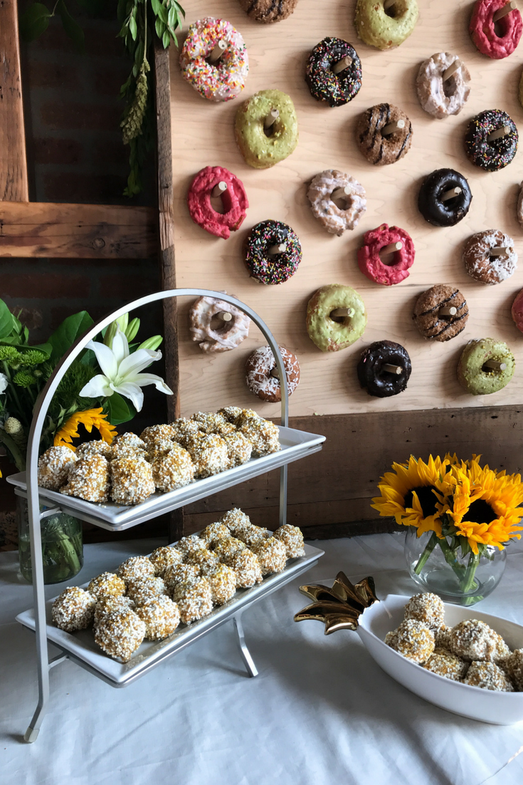 Westtown Bakery Cake Balls. DIY Donut Wall Dessert Table For A Wedding Or Shower