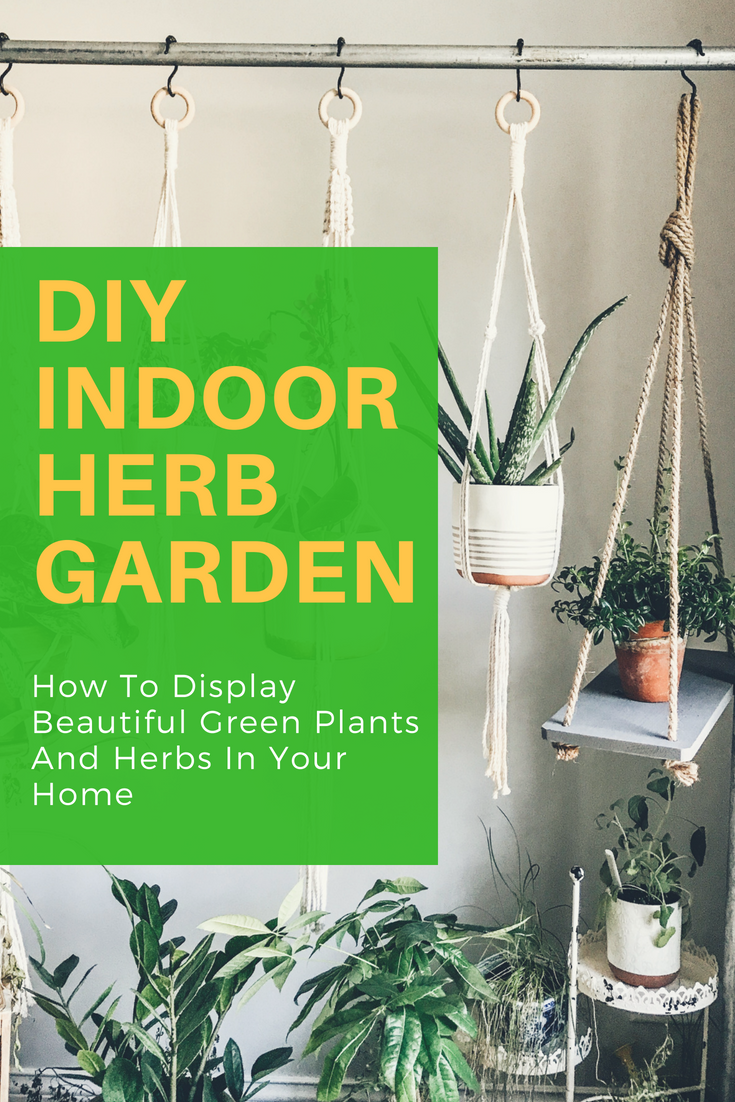 Indoor Herb Garden Ideas. How To Display Your Herbs and Green Plants. Grow Your Own Cooking Herbs At Home. Best Plants To Grow In Illinois. #herbgarden