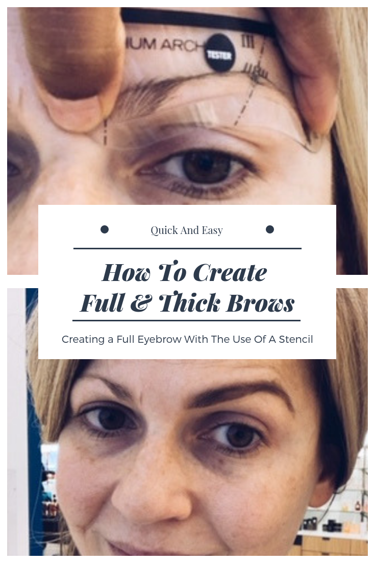 Thick and full eyebrows. How to get full eyebrows. Eyebrow makeover. How to teach yourself to do your own eyebrows. How to use the Anastasia Beverly Hills Eye Brow Kit. #How #to #get #thick #eyebrows
