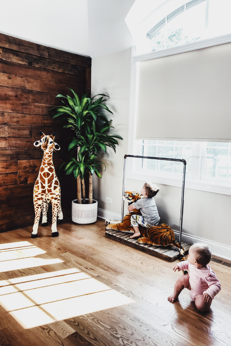 Kid's room floor planter. Best Indoor Planters And Herb Garden Ideas. Decorative Indoor Statement Planters And Gardens For Your Home. Ceramic and decorative floor planter for palm tree. West Elm designer floor planter. #indoor #planters # palm #tree
