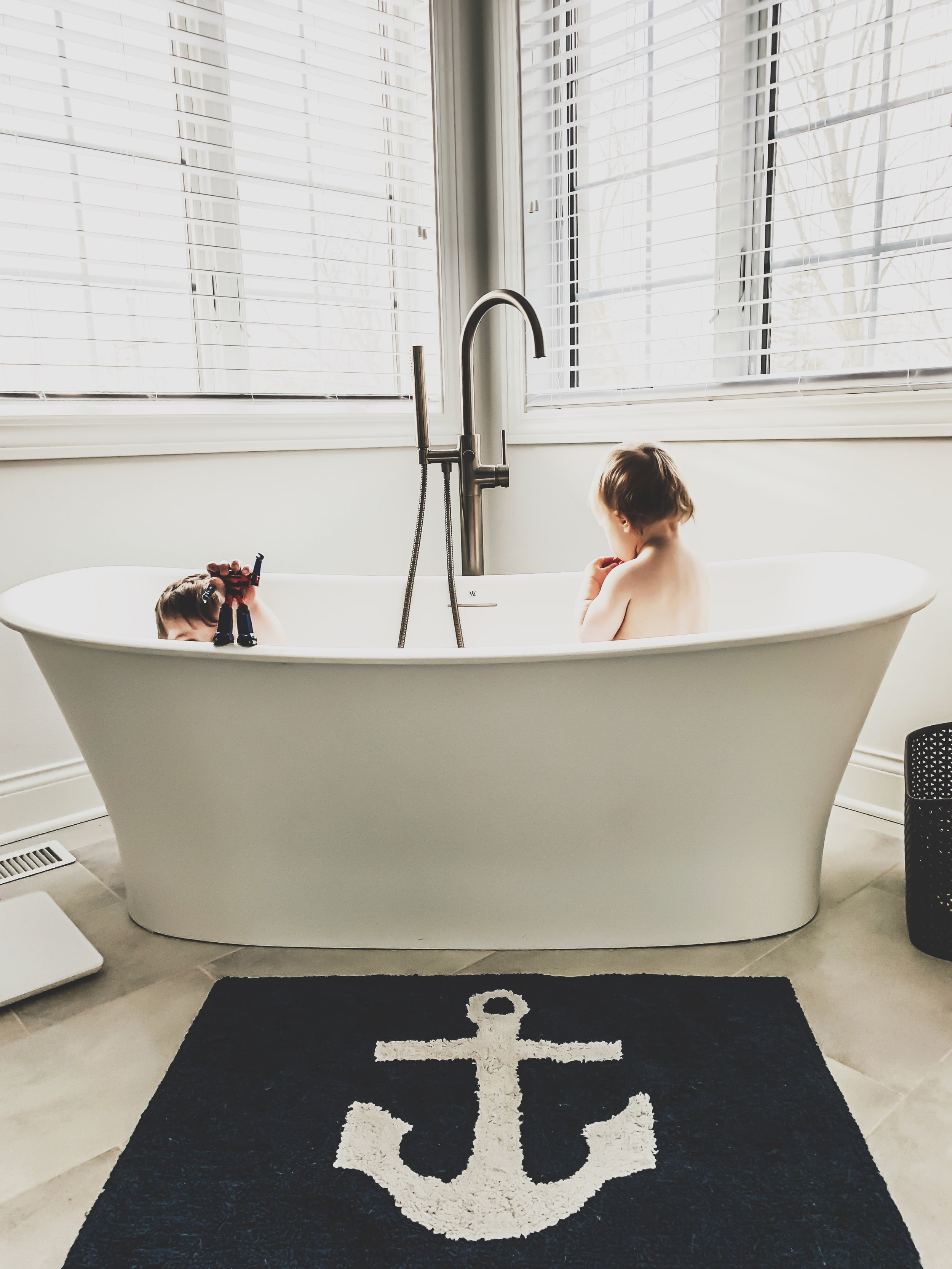 Master Bathroom Decor Ideas First Thyme Mom