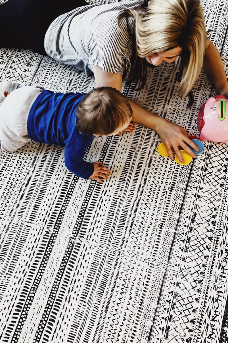 How To Design A Playroom That You And Your Children Will Love. Creating A Cohesive Space With Little Nomad Play Mats #beautiful #playmats #playroom #decor #ideas