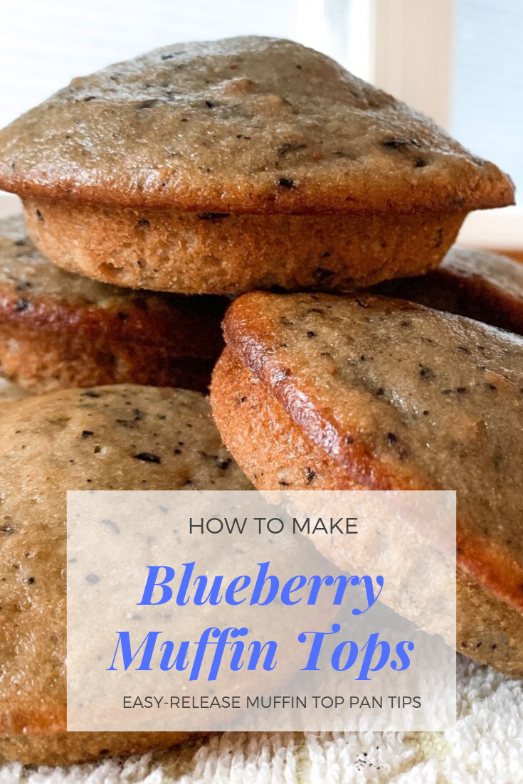 Muffin Top Pan Blueberry Muffin Recipe Ideas. Non-stick muffin pan. How to make muffin tops in a muffin top pan. Blueberry muffin tops. How to make blueberry muffin tops. Easy release muffin tops. #muffin #top #pan #recipes