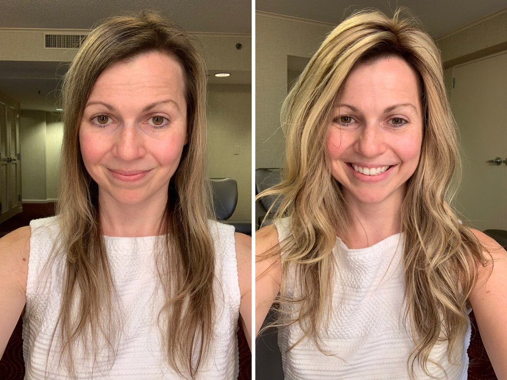 How To Make Thin Hair Look Thicker Thin Hair Styles For Women First Thyme Mom
