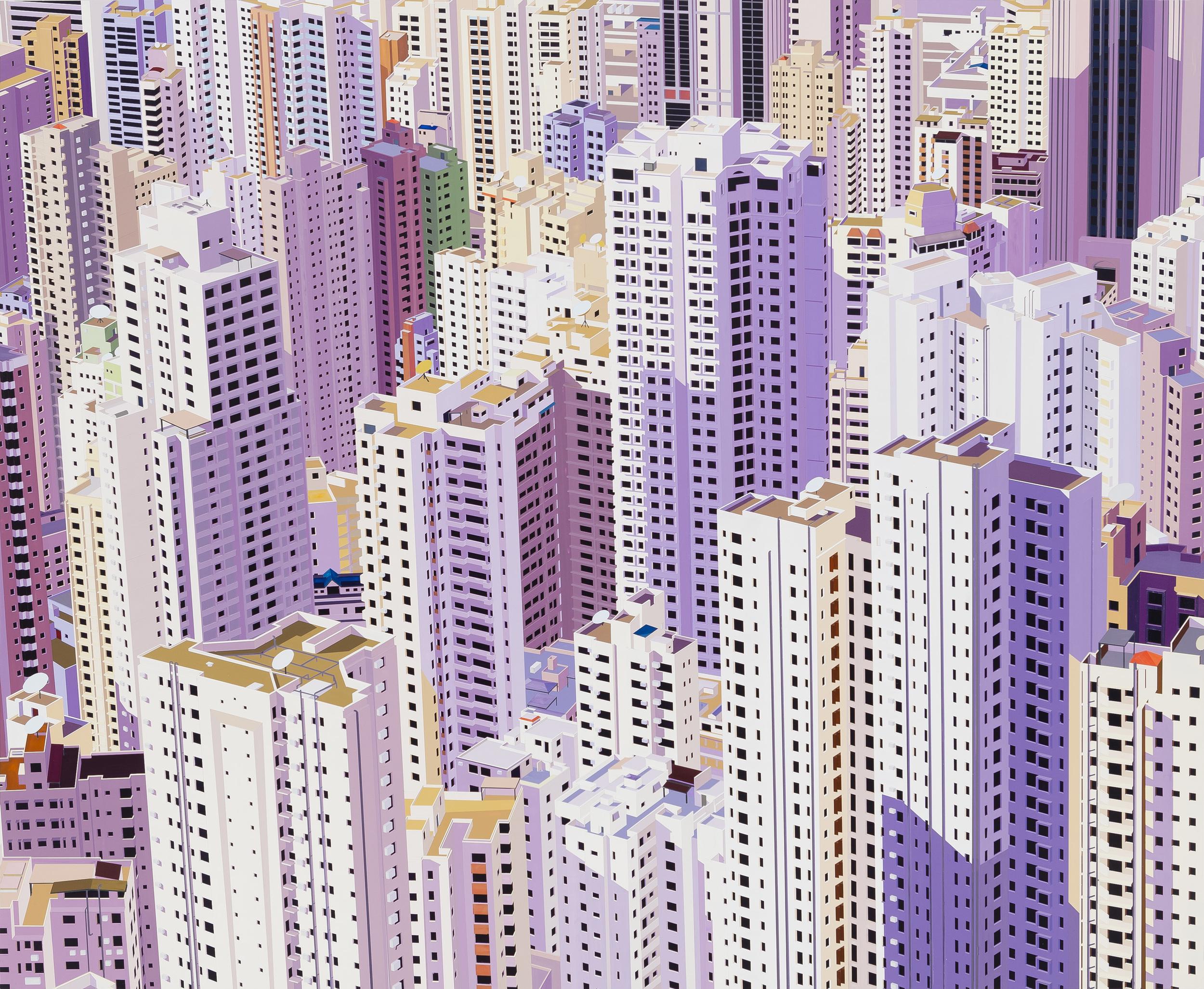 """Hong Kong, 2013. Acrylic on Dibond, 60 x 70"""""""