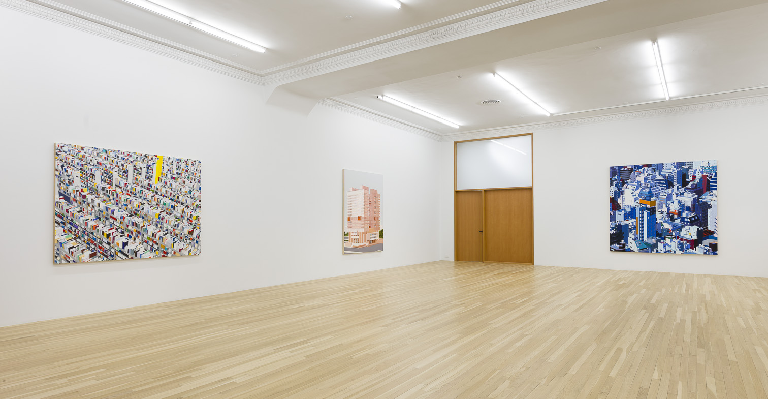 "Installation View: ""Systematic Anarchy, Peter Blum Gallery, NY, 2014"