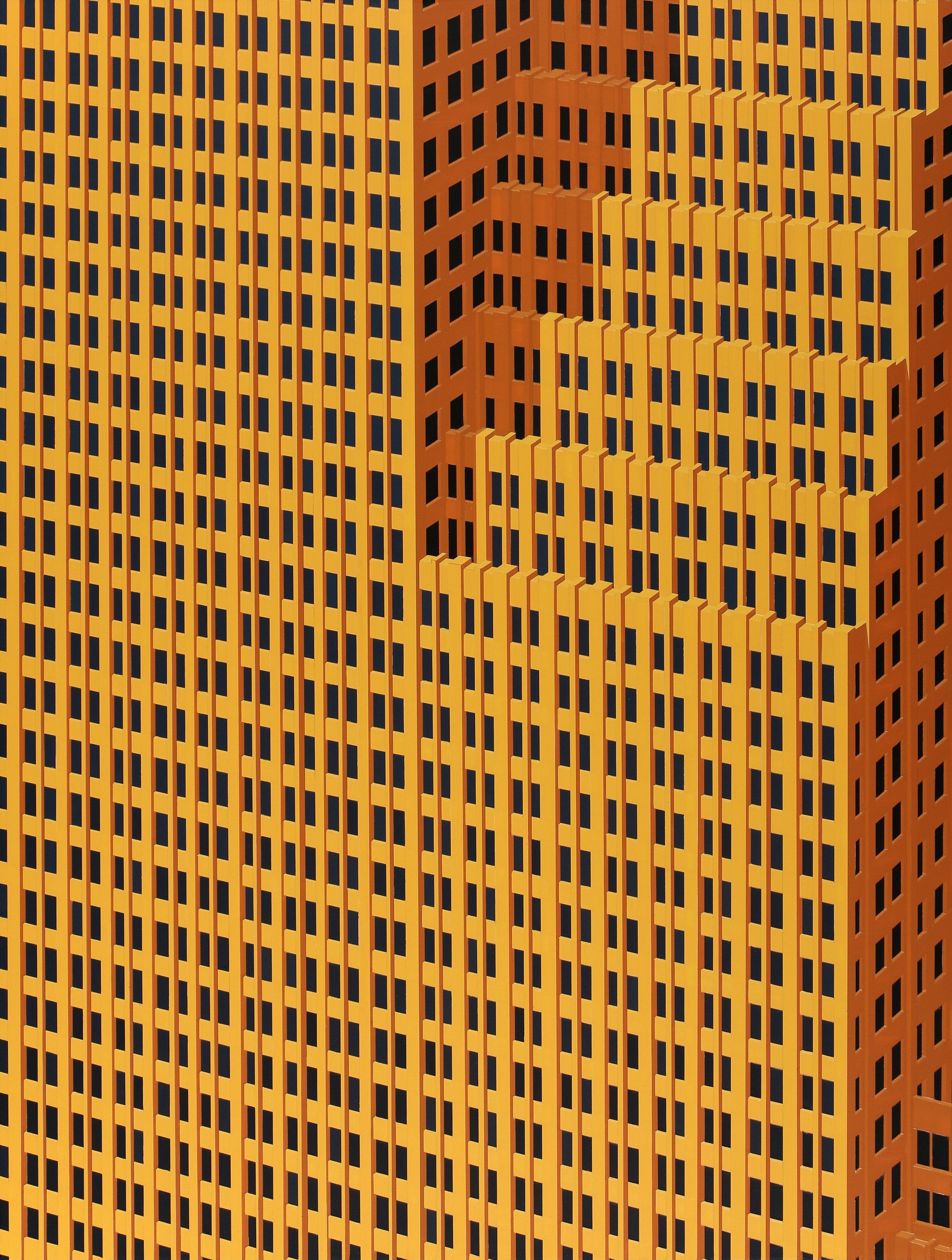 Houston, 2019. Acrylic on Dibond, 80 x 60cm