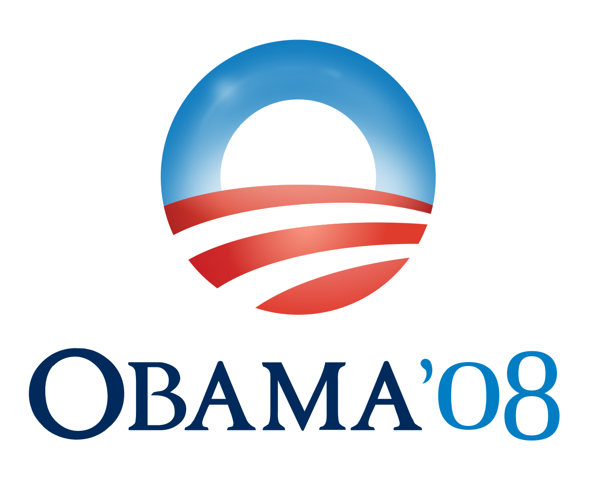 Figure 4: Obama's 2008 presidential campaign logo