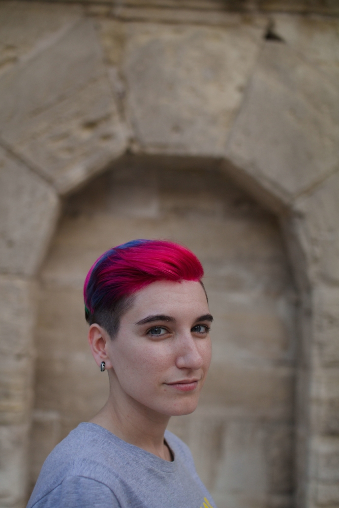 Noe Lara, activiste no binarie . Zaragoza, Junio 2018. Foto:  María Torres-Solanot
