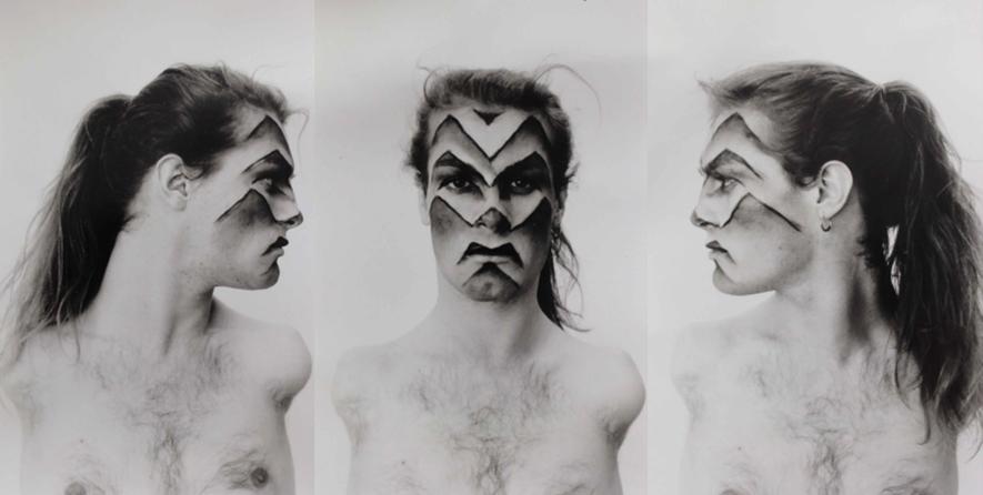 Face Art por Lorenza Bottner.