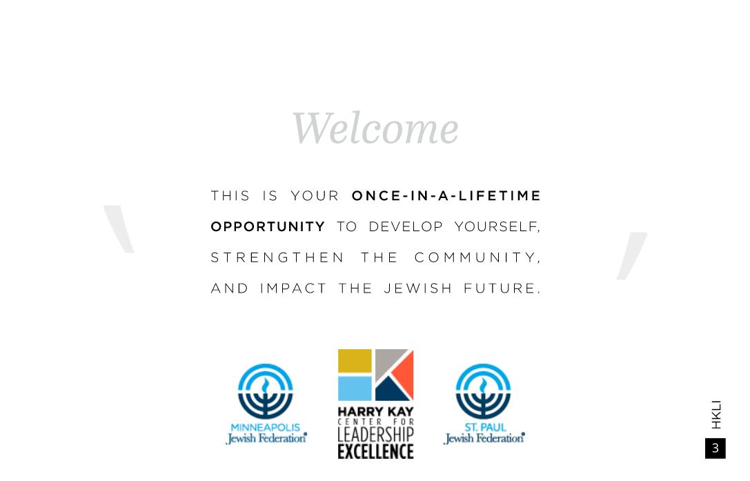 Brochure for Leadership Training Program