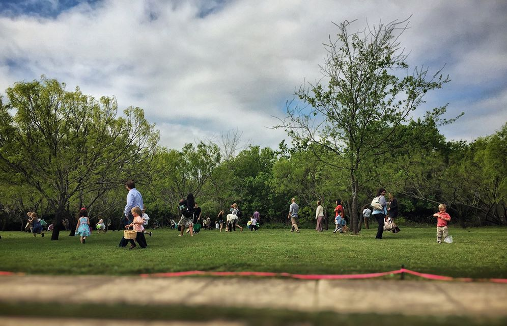 We had a lively Easter egg hunt to celebrate the resurrection!