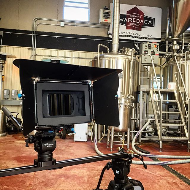 Shoot 3 of 4 for today! Still one more location to go. #marstudioplus @marstudioplus #gh4 #nikon1424 #slidershots #waredacabrewing