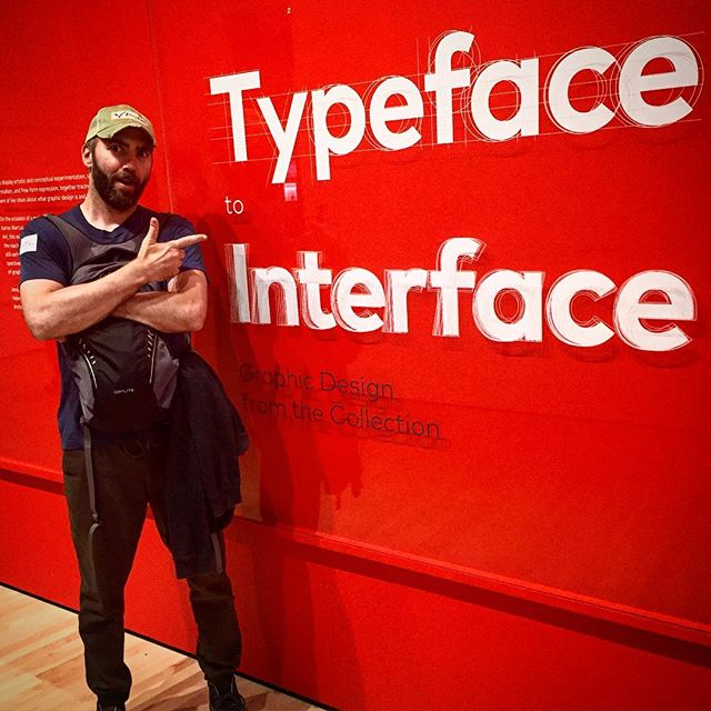 @sfmoma checking out an exhibit I know @marstudiogram would def want to see. So much #helvetica you wouldn't believe Sam. #typography #modernart #sanfrancisco