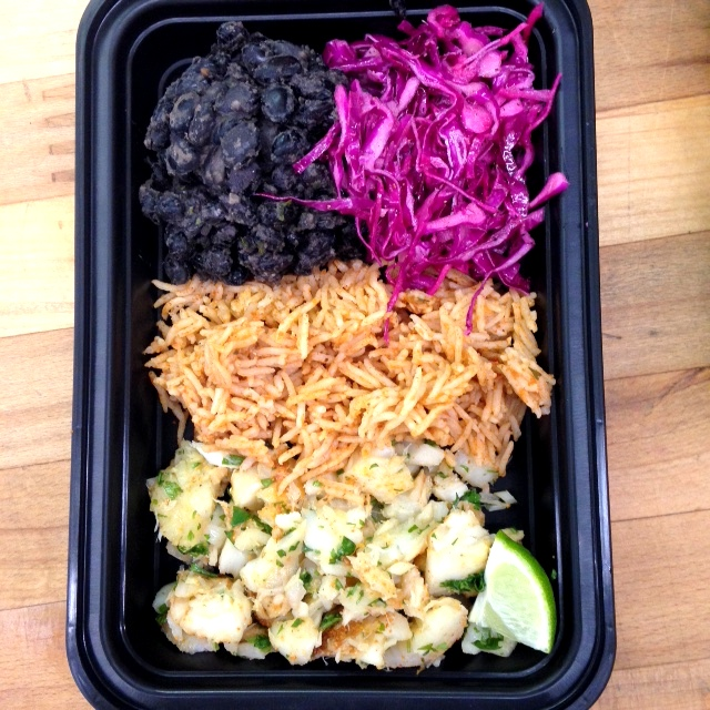 fish tacos red rice cabbage black beans.jpg