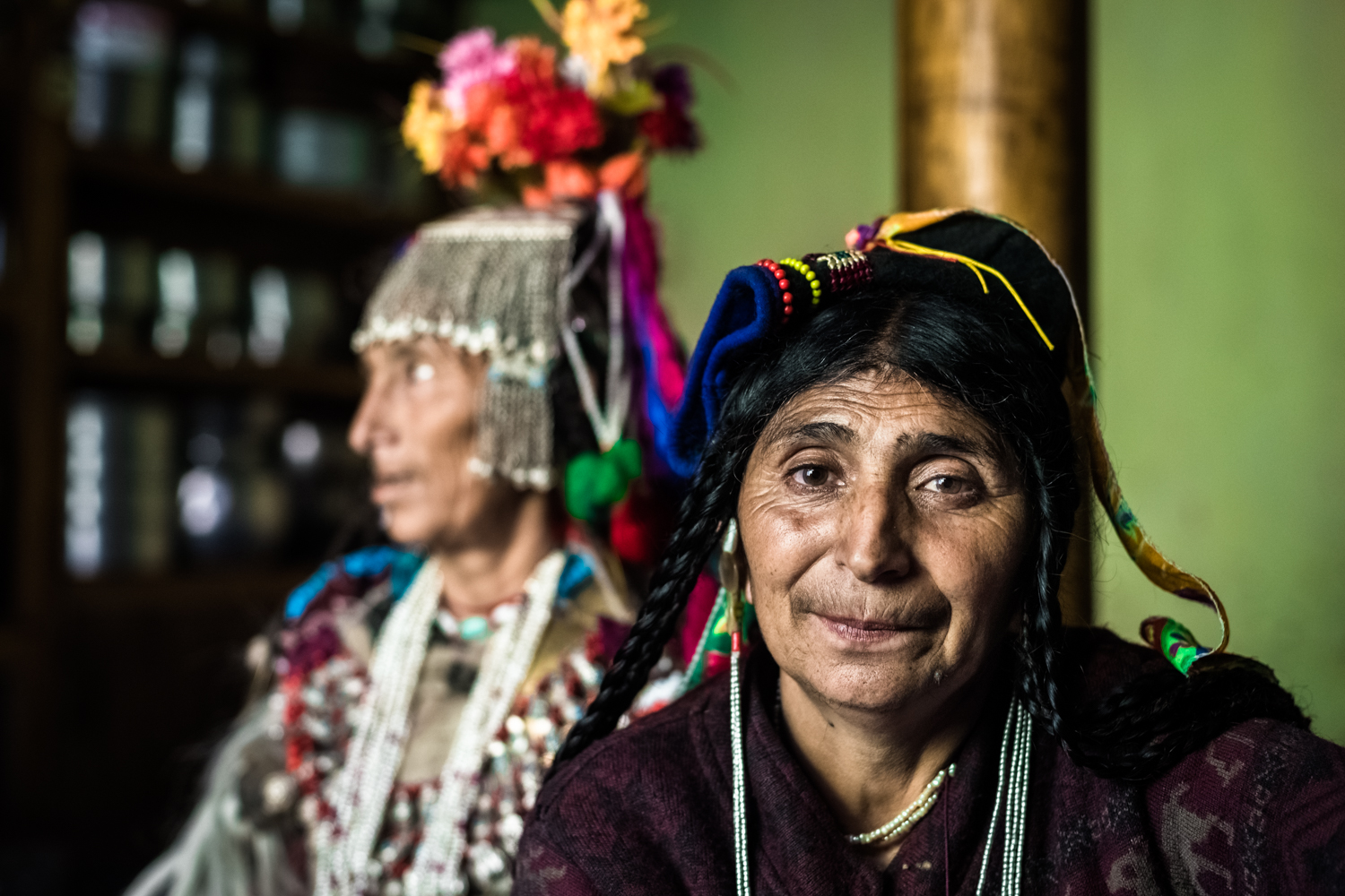 © Ayash Basu. A tad surprisingly, but pleasantly and re-assuringly, women are front and center of Brokpa culture.