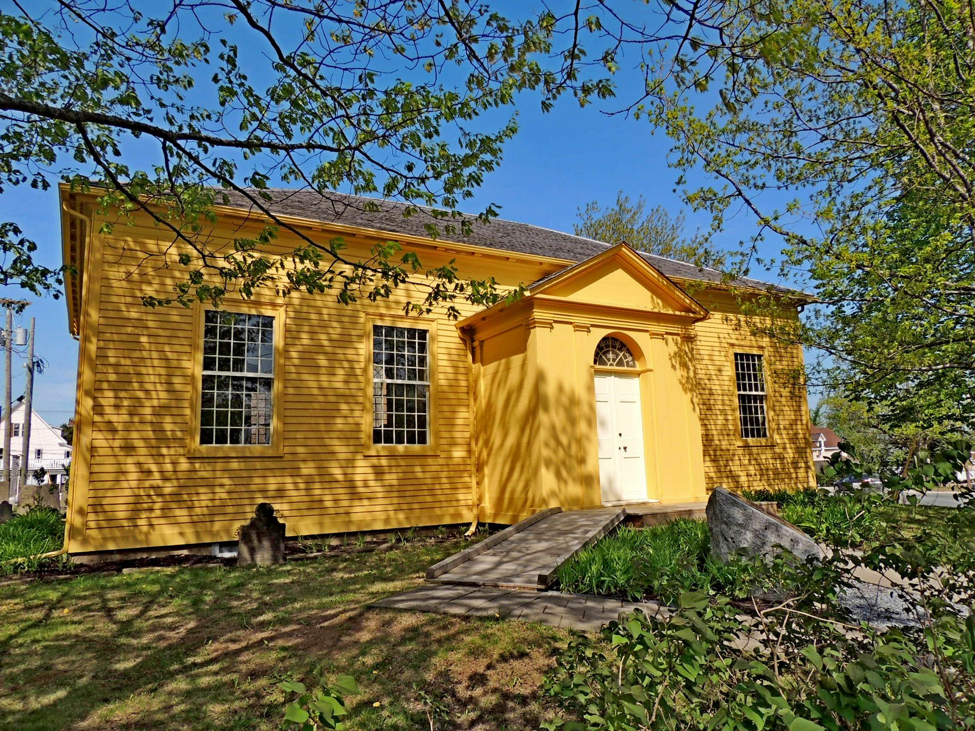 Free Meeting House, National Historic Site of Canada