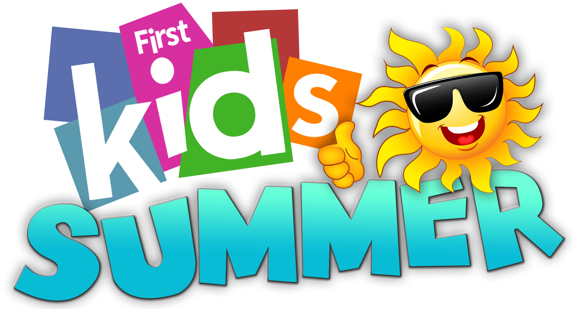 First Kids Summer Logo Blue Summer.png