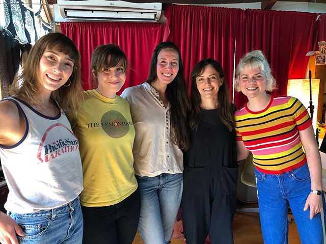 Heather Woods Broderick & The Four Elements! The greatest choir ever! Seriously though, this was an amazing afternoon of choir tracking last week. HWB's new record is so good it hurts. #heatherwoodsbroderick #studio #recordingstudio #theisokon #choir #lomo