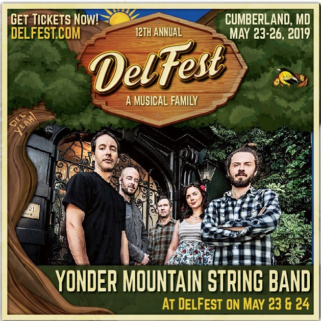 Festivaalllll! We can't wait to get to beautiful Allegany County in Maryland for Memorial Day Weekend and hang with the patriarch of Bluegrass, Mr. Del McCoury at the 12th Annual DelFest! See us Thursday night and Friday afternoon OR hang for all four days and nights of music, family, and friends along the Potomac River—one of the most scenic settings in festival land! Check out the full lineup at delfest.com and get tickets here    bit.ly/2IPiSki #delfest @delfest #delyeah