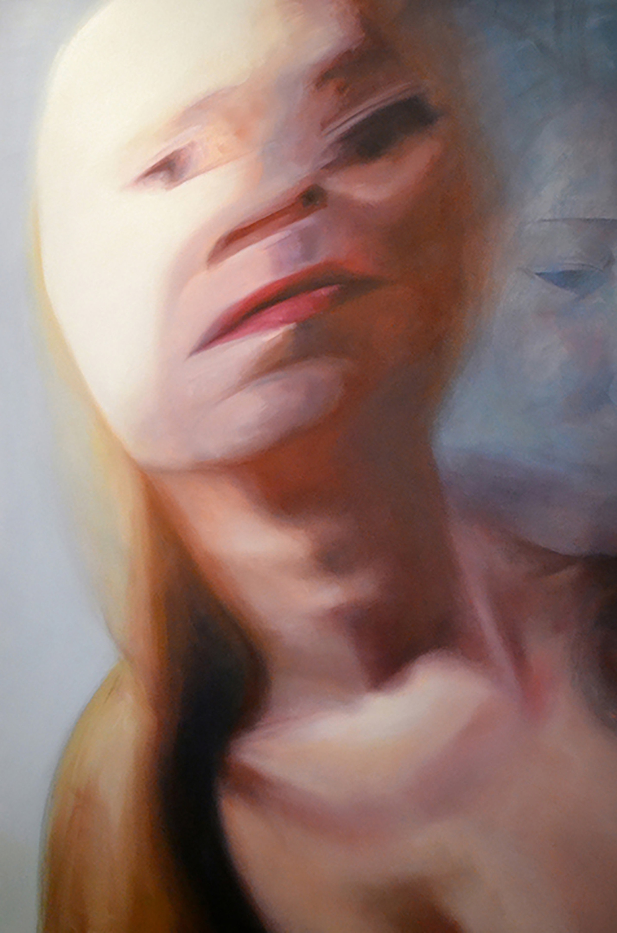 """Transpose   Oil on canvas  60""""x40""""  2014"""