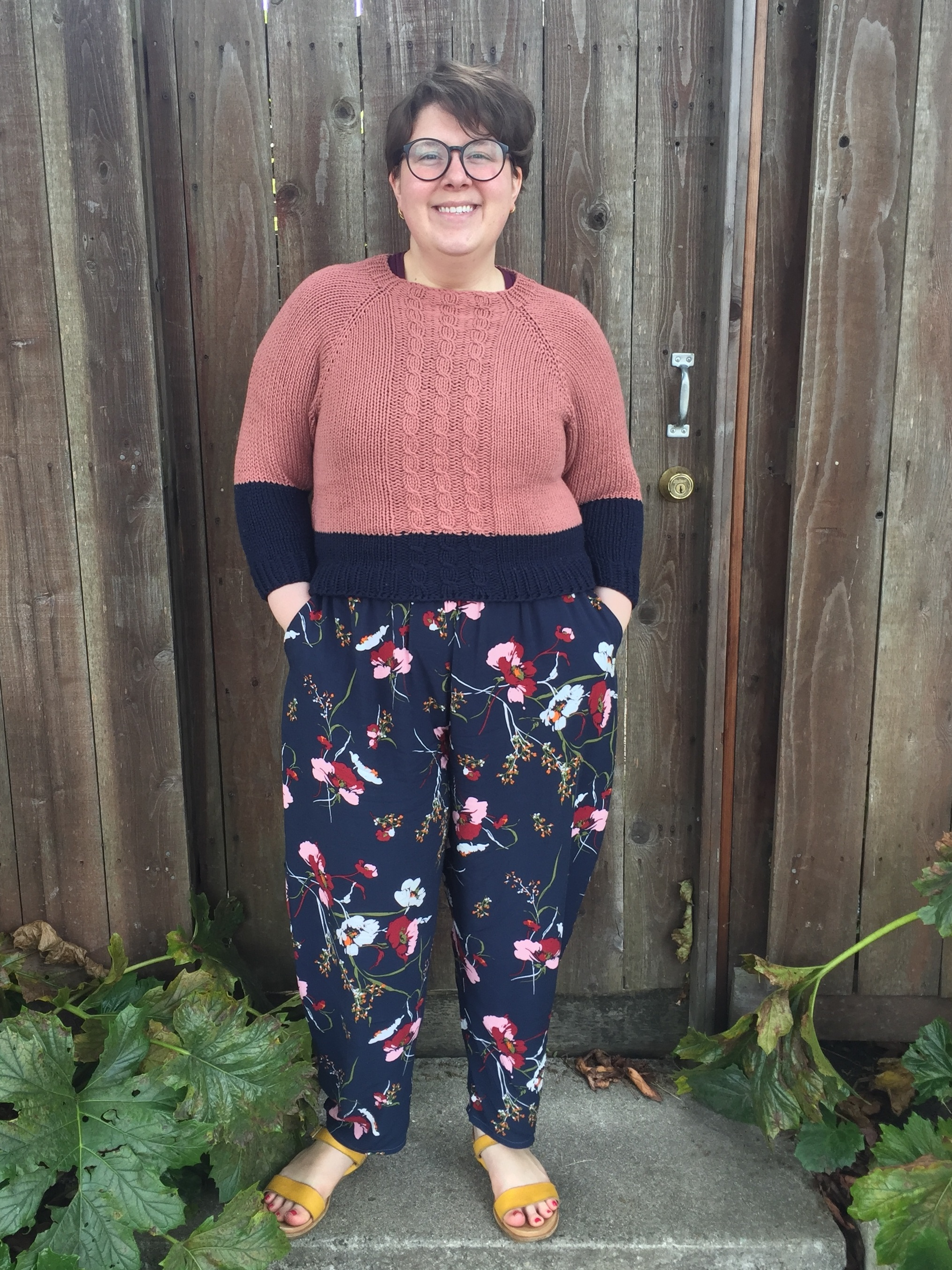 May 24, Part I: Freemantle Pants & Grace Pullover