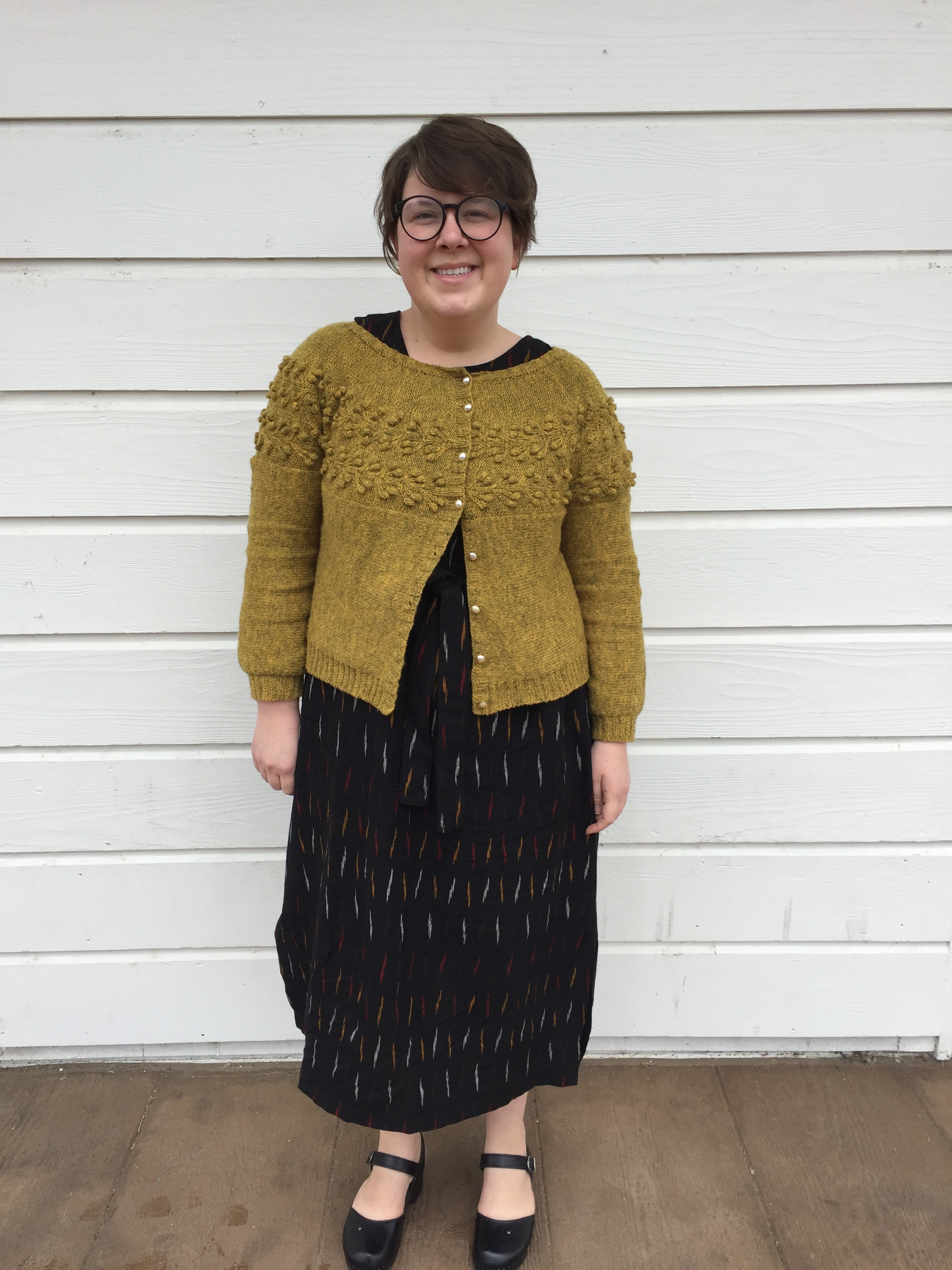 May 26: Wiksten Shift & Laaka Cardigan