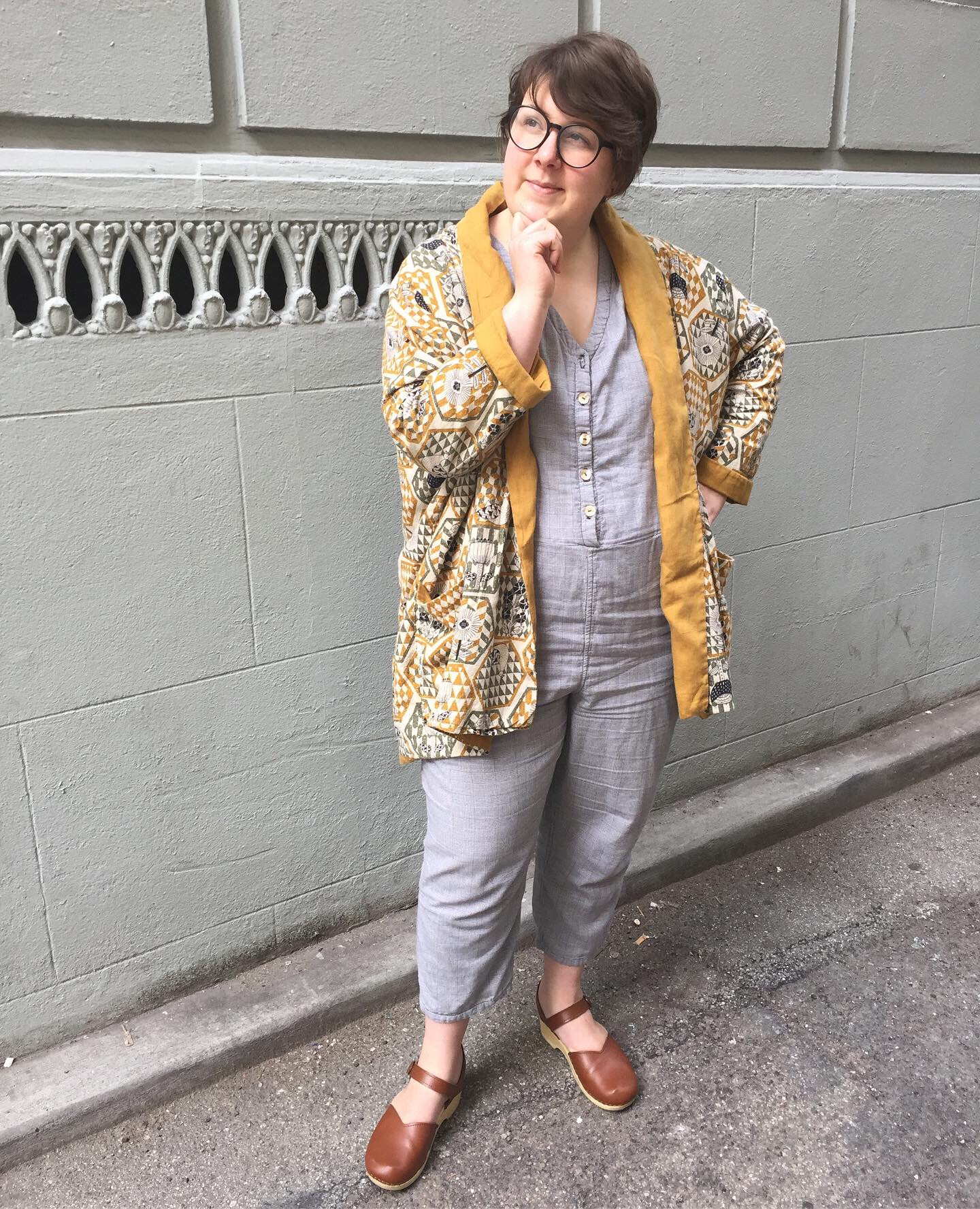 May 28: Robert Collection Jumpsuit & Wiksten Haori