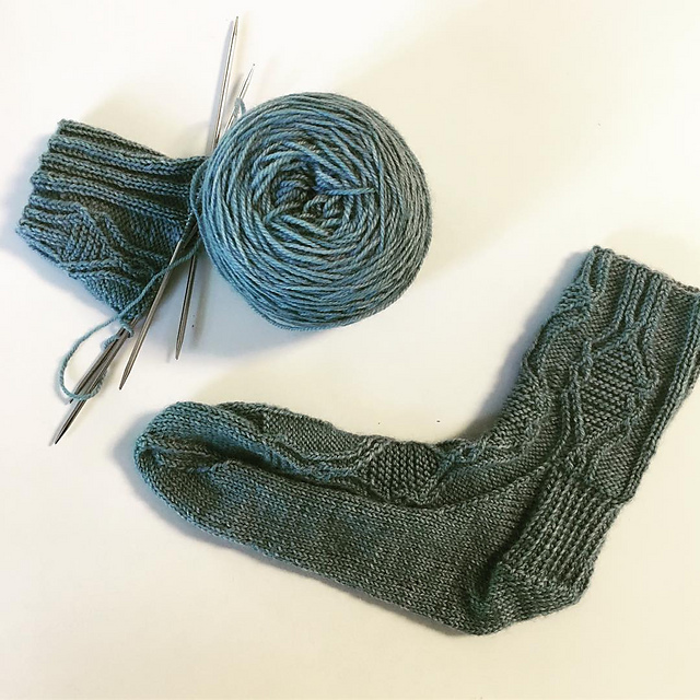 Previous Festoon socks for a petite friend