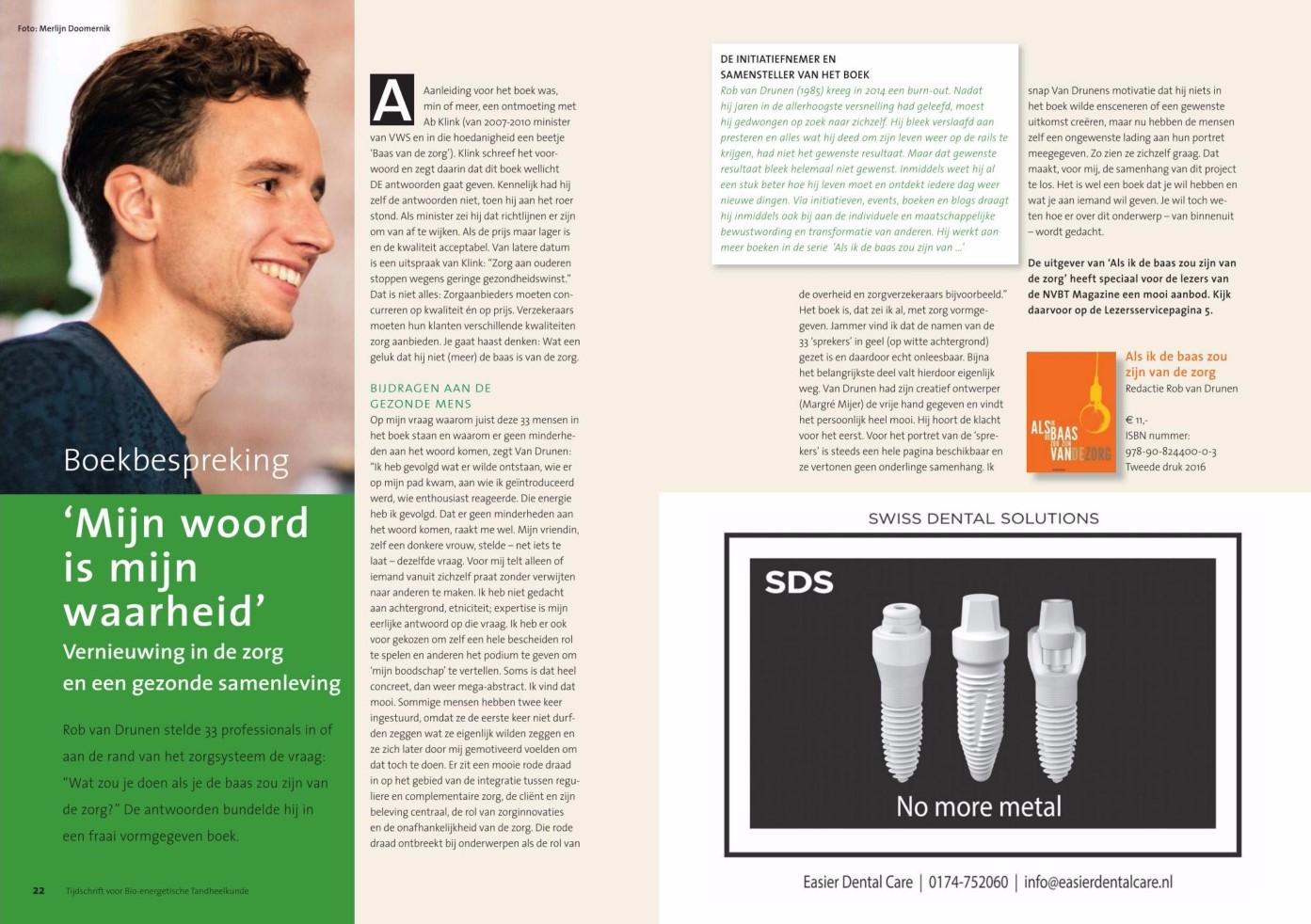 Recensie in NVBT magazine