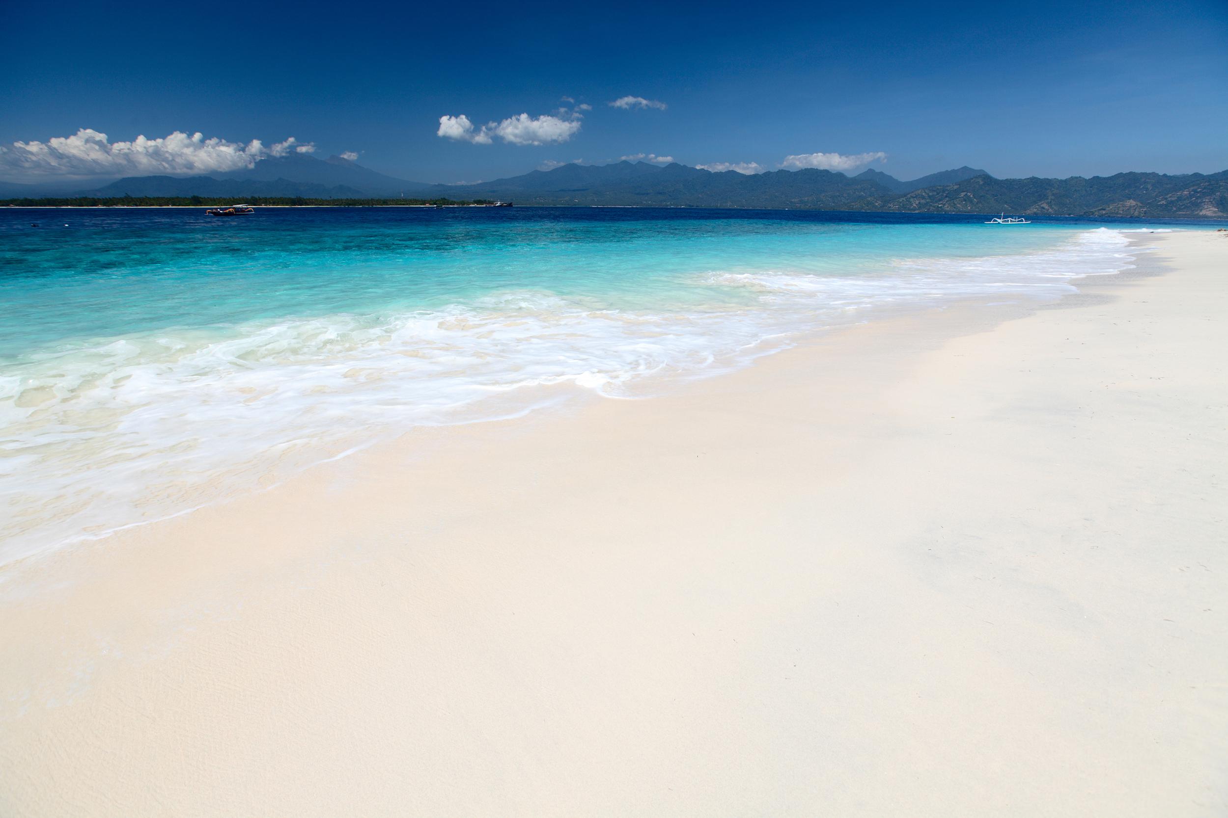 Beautiful beaches, Gili Air