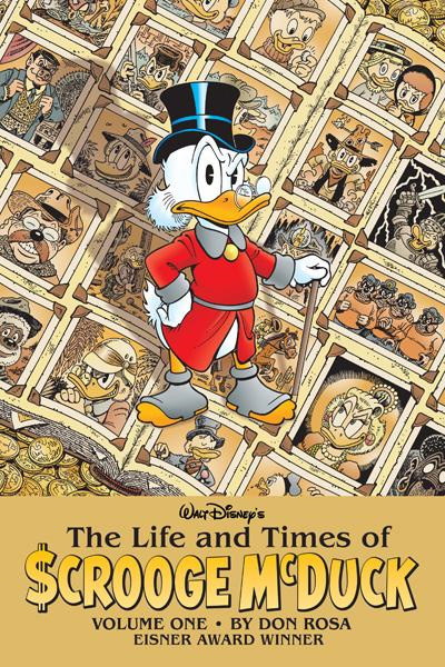 life and times of scrooge mcduck cover