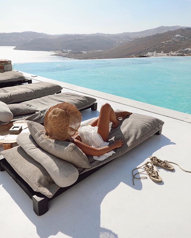 Day dreaming about the amazing week spent with @myconiancollectionhotels in Mykonos ☁️