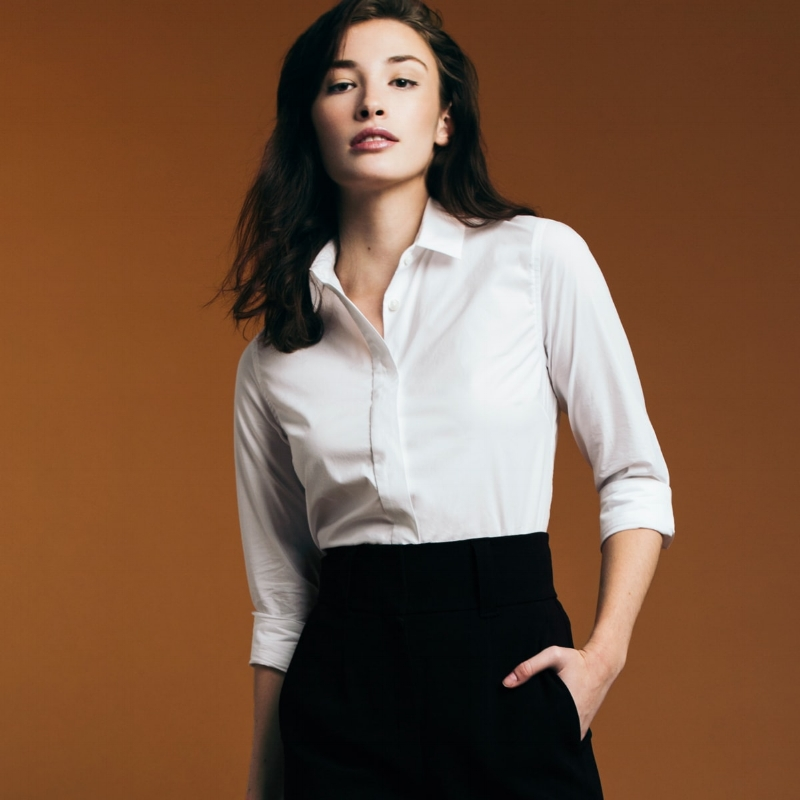 thirteen seven reinventing the classic white button down