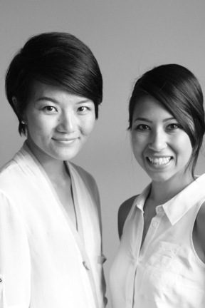 Yehua Yang and Evelyn Frison of Pivotte