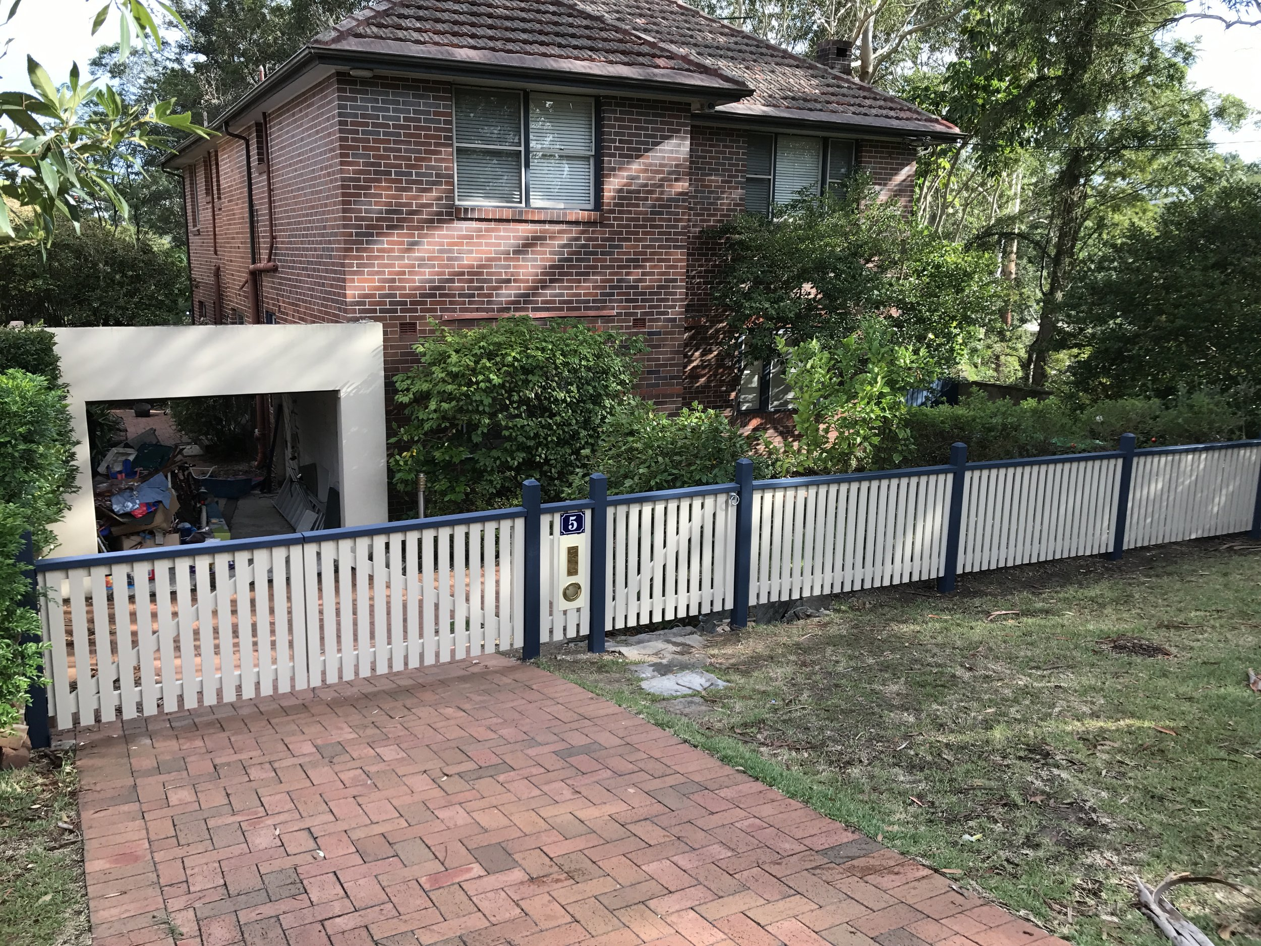 Fencing, Lane Cove, Sydney, NSW