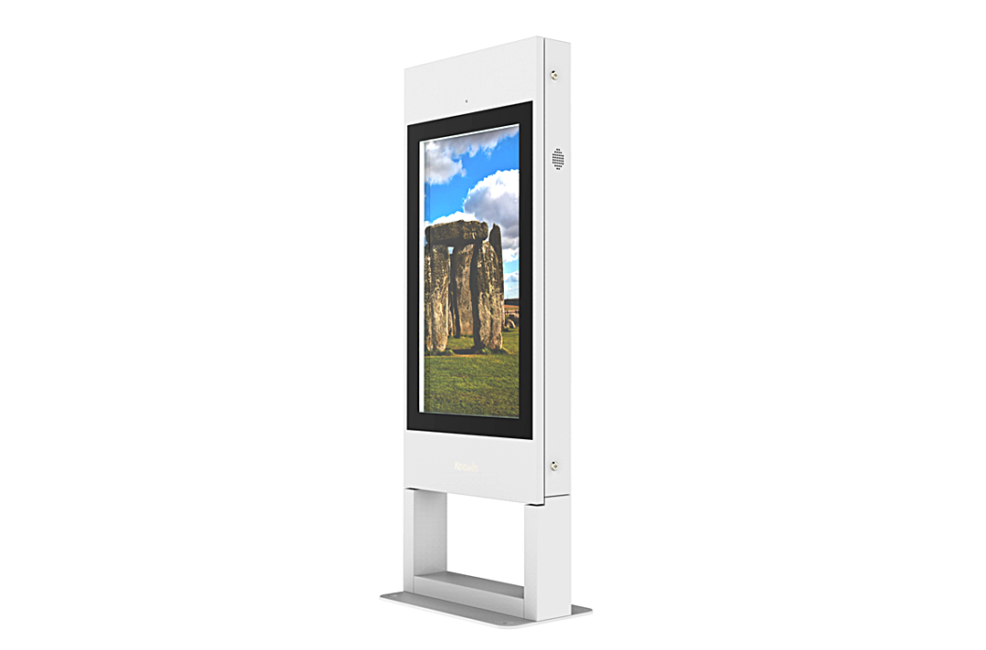 Ultra-thin Integrated Frame Design             Outdoor LCD display maker Keewin is showcasing its ultra thin air-cooled outdoor displays,        which can be wall,ceiling or standalone mounted.This new line of products,with particular attention         paid       to brightness and heat dissipation,has been rolled out to public transport,        storefronts,hotels,    schools,parks,banks and more.
