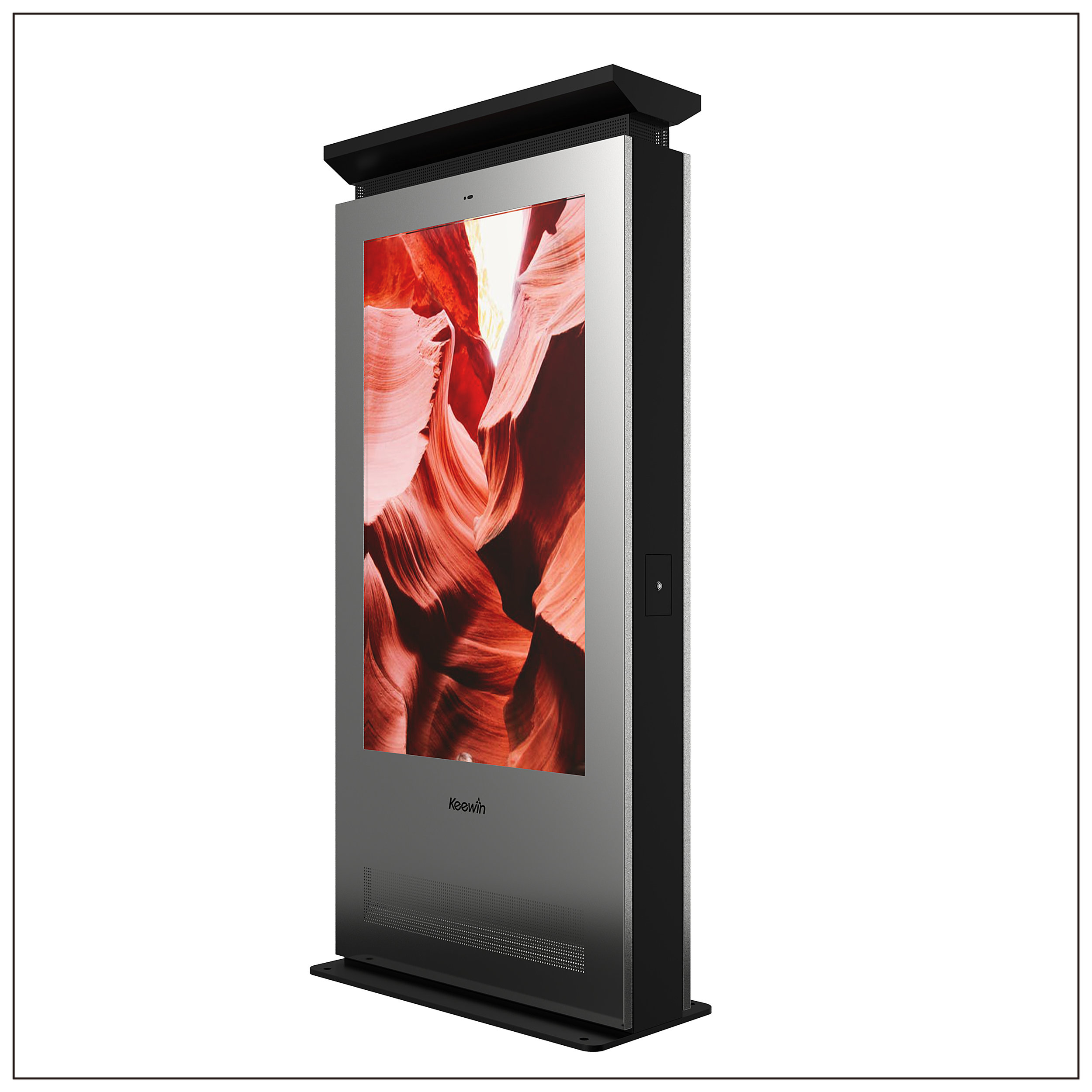 Outdoor High Brightness Double Side LCD Displays - Panel Size: 86 inchBrightness : 3000 nitResolution: 1920 × 1080