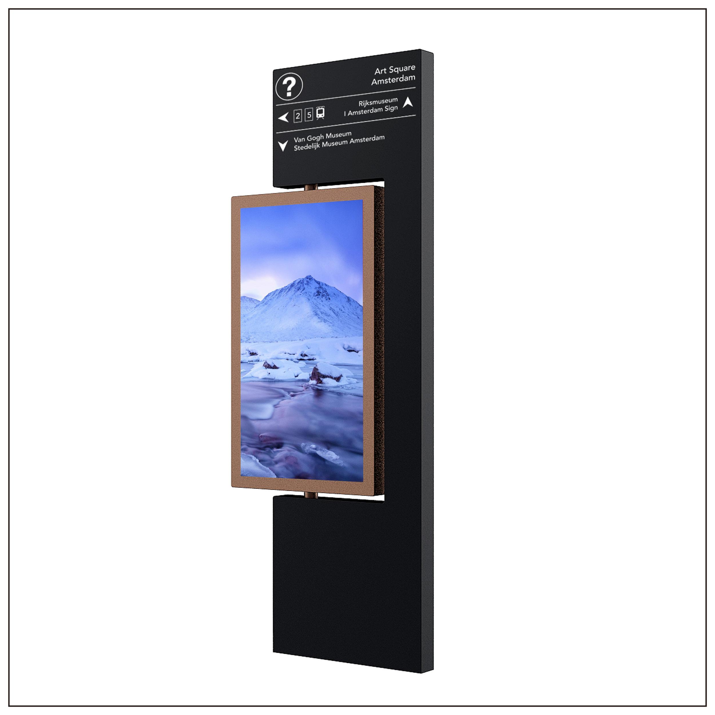 Wayfinding LCD Kiosk