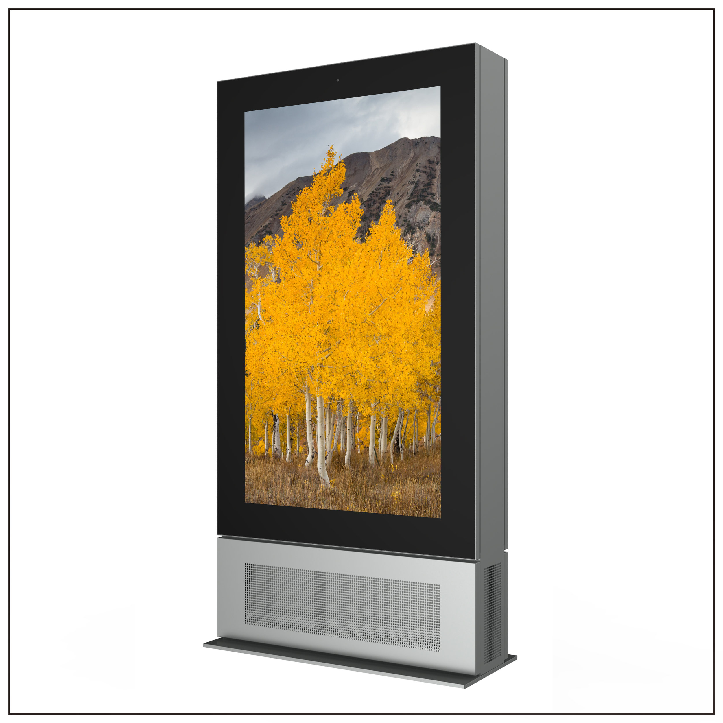 75 inch Liquid Cooled High Brightness LCD Displays