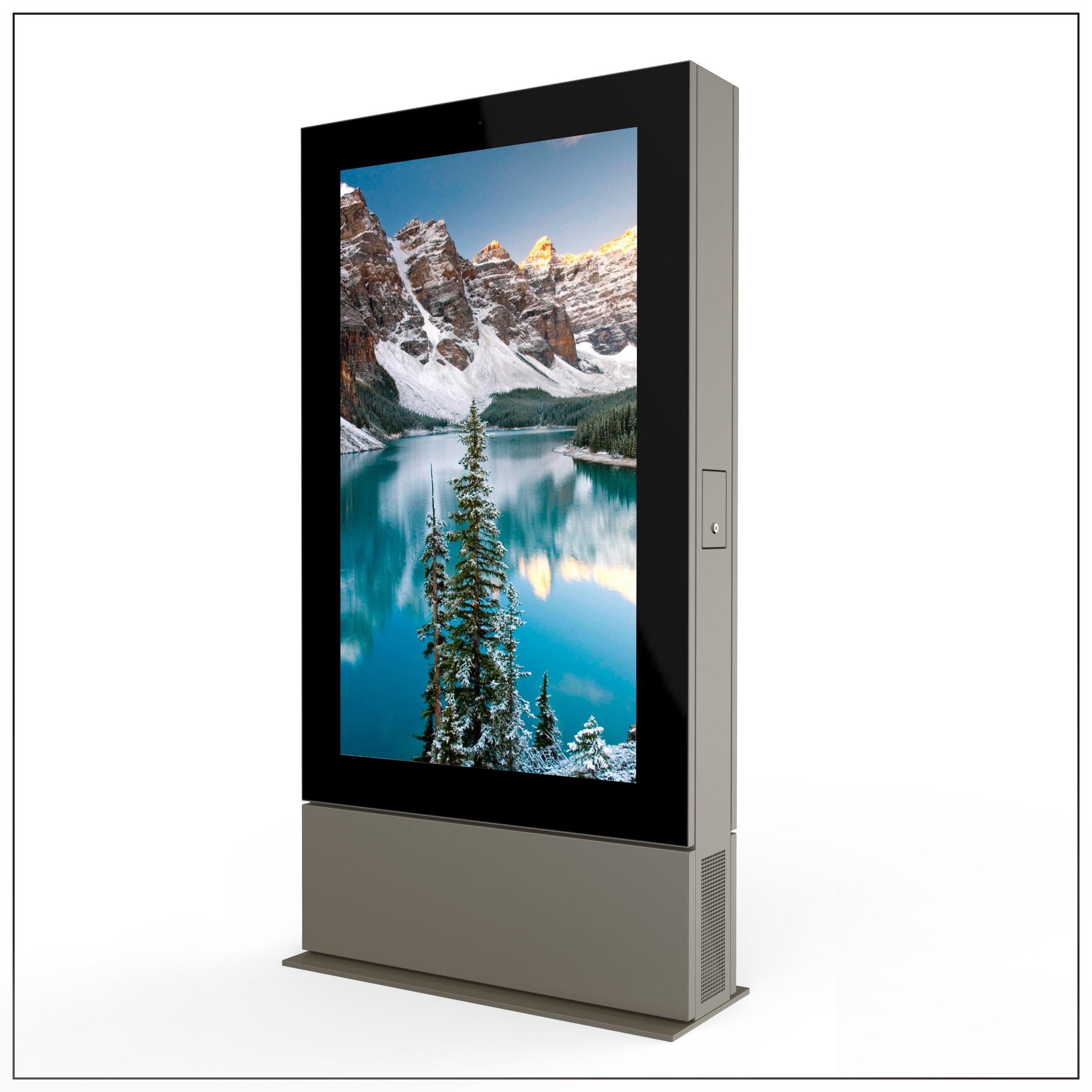 65 inch Liquid Cooled High Brightness LCD Displays