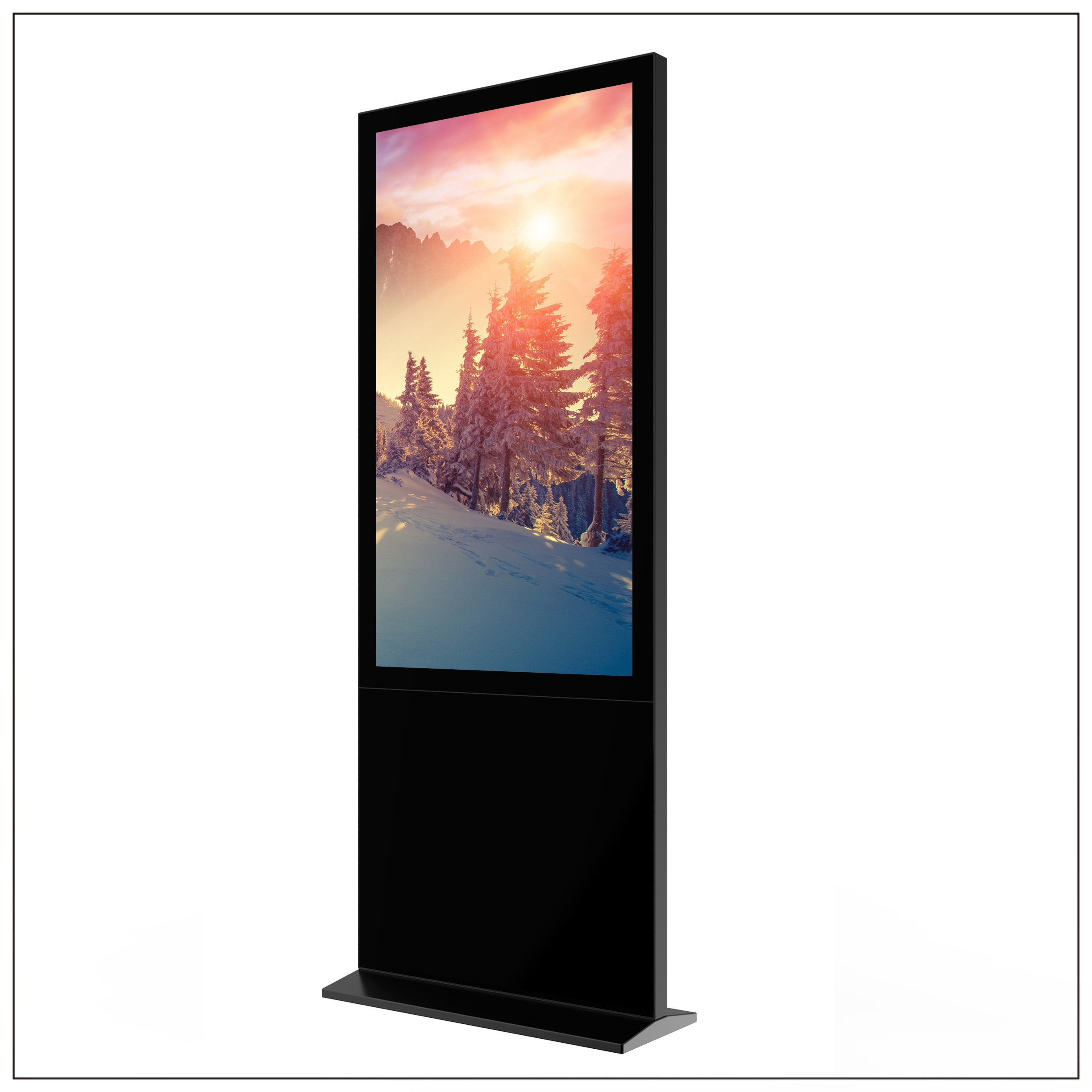 Ultra Thin Touch LCD Displays