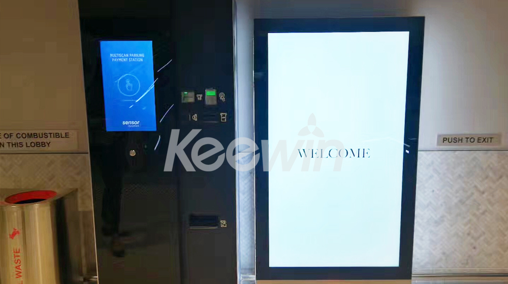 82 inch Indoor LCD Display   Beecroft Place