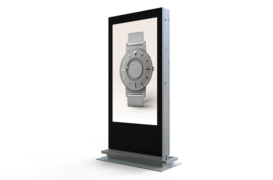 Keewin display indoor floor standing digital signage LCD Kiosk-65 inch-double sided screen.jpg