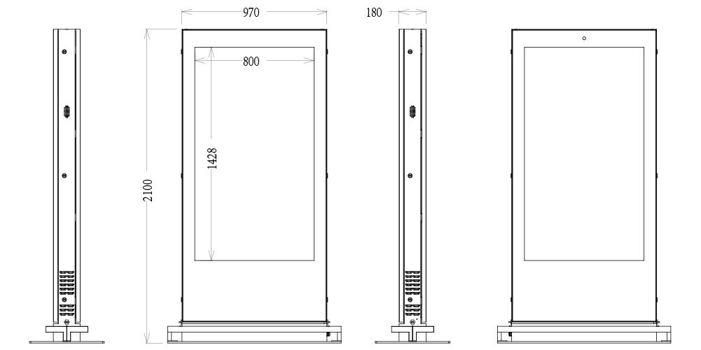 Floor Standing Digtial Signage Dimension-03.jpg