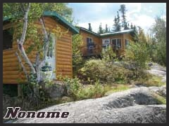 Noname is a comfortable outpost camp with 2BR, shower, toilet, full kitchen and dining room.