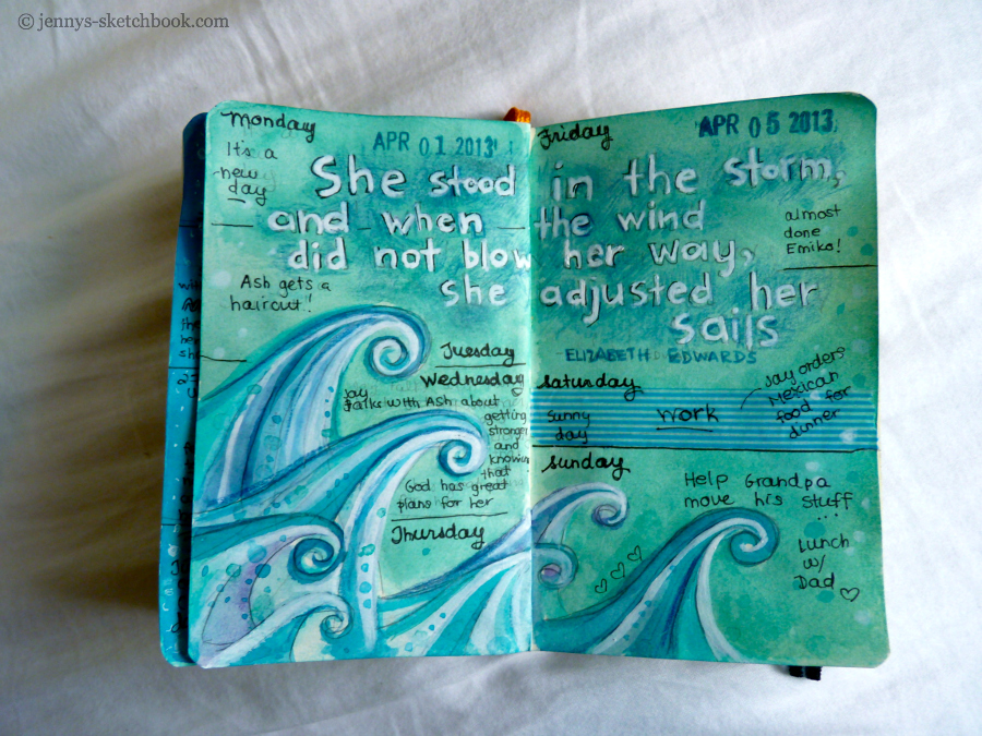 jennifer frith journal pages